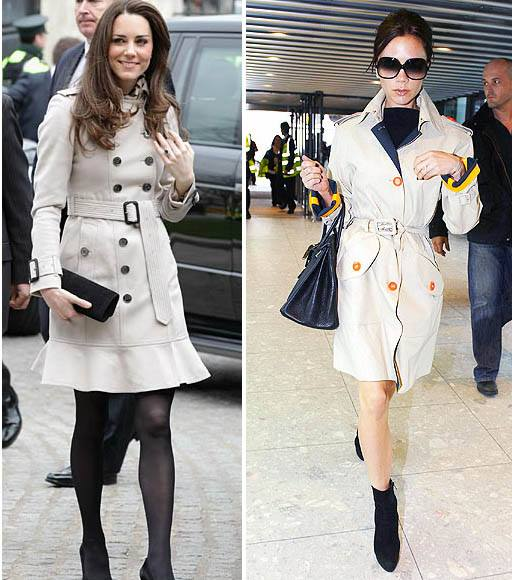 Victoria Beckham e Kate